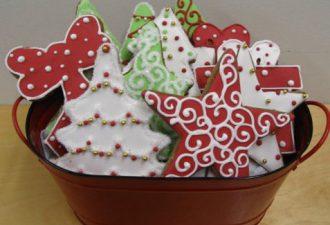 20 идей для оформления новогодних пряников и печенья