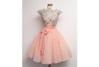 Коктейльные платья в стиле 50-х: женственные силуэты