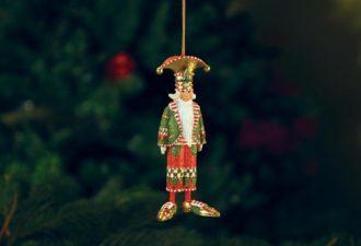 Необычные игрушки на елку: ёлочные украшения под новым углом