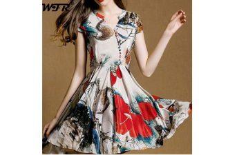 Лёгкое платье универсального фасона своими руками с выкройками