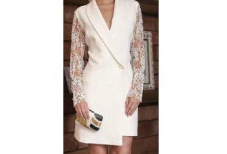 Элегантное платье на вечер и для офиса с выкройками