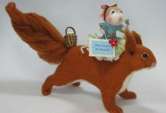 Авторские игрушки от Барби Андерсон: войлочное очарование