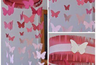Бабочки для создания вечного лета своими руками