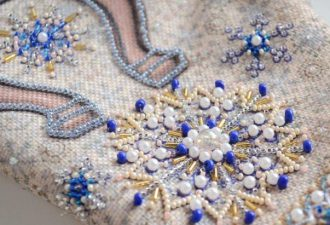 Вышивка бисером на одежде: вдохновляемся прекрасными узорами