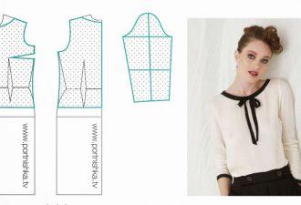 10 модных легких блузок с выкройками, которые можно сшить за пару часов