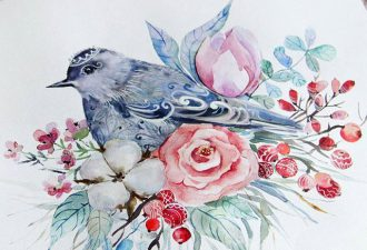Душевные иллюстрации от прекрасного автора Ольги Бобко