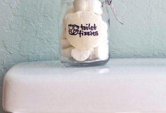 Натуральные бомбочки для дезинфекции и ароматизации туалета