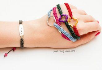 Плетеный браслет своими руками: подробный мастер-класс