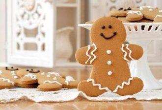 Крутой рецепт настоящего печенья в виде имбирных человечков