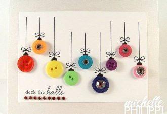 Пуговичный декор к Новому году: 10 праздничных идей