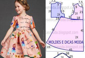 12 моделей одежды для малышей с выкройками