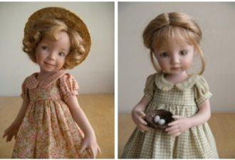 Куклы в стиле ретро от Yesterdaydolls: ностальгия в игрушках