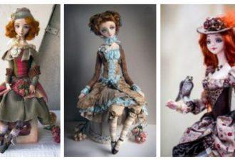 Реалистичные куколки Анны Фадеевой: изысканное очарование
