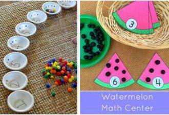 10 математических игр для легкого запоминания цифр и счёта