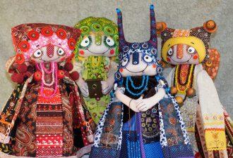 Авторские куклы Лаврентьевой Любови: ярко и по-народному