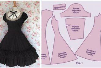 Милые платья в стиле ретро своими руками с выкройками