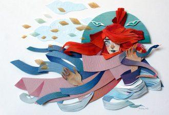Бумажные фантазии Морганы Уоллис: мистика под необычным углом