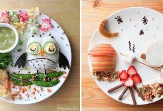 Вкусная и красивая еда для детей от Саманты Ли