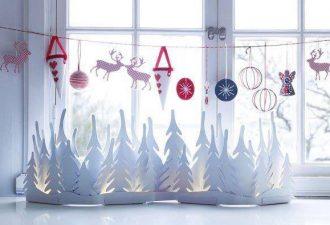 Как украсить окна к Новому году: 10 оригинальных идей