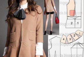 10 удобных пальто на любой вкус с выкройками