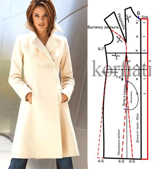 Пальто женское сшить самой 49