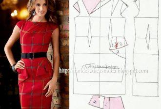 12 стильных платьев своими руками на любой случай с шаблонами