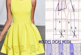 8 простых и легких платьев своими руками с выкройками