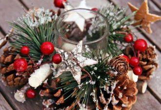 10 идей зимних подсвечников для украшения квартиры