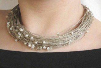 15 впечатляющих украшений из шнура: используем необычный материал