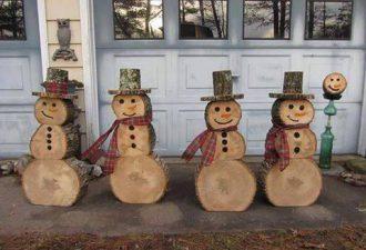 10 идей снеговиков из разных материалов своими руками