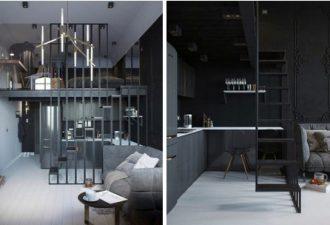 Дизайн студии площадью 24 кв. м.: умещаем прекрасное в малом
