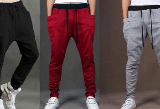 Модные молодежные штаны SWAG своими руками с выкройками