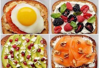 10 самых необычных и вкусных тостов на завтрак
