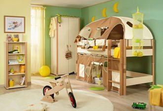10 идей необычных двухъярусных кроватей для детских