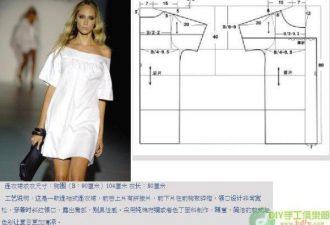 8 простых платьев с модных показов с выкройками