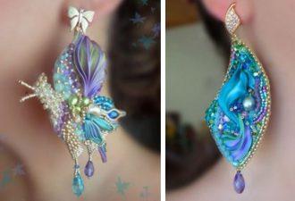 Serena Di Mercione Jewelry: вышитые украшения на невероятном уровне