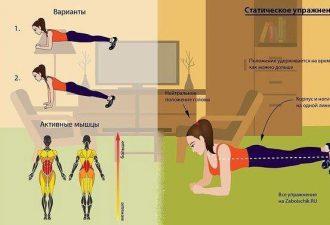 Тренировка в домашних условиях: простые упражнения для поддержания формы
