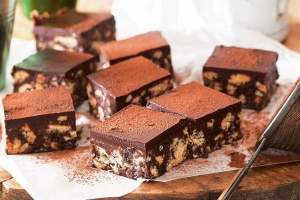 Шоколад с печеньем своими руками фото 491