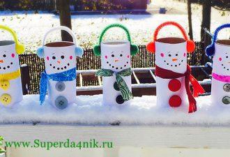Снеговички своими руками из всего на свете: 10 захватывающих мастер-классов
