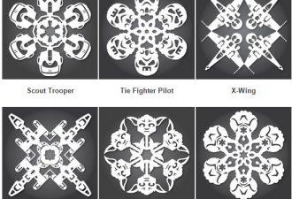 Более 100 схем бумажных снежинок для вашего творчества