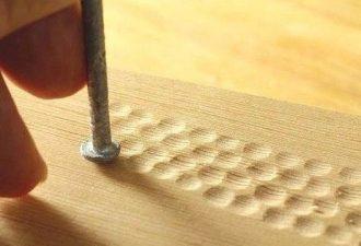 10 способов создания оригинальных фактур на простом дереве