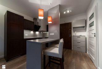 Уютный интерьер квартиры в 34 кв.м: стильная жилплощадь