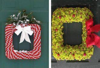 34 идеи рождественских веночков для вашего дома