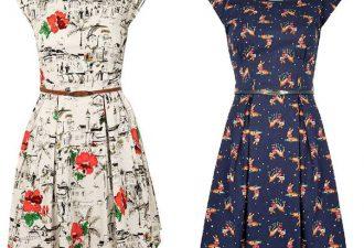 Стильное и простое платье с выкройками на все размеры