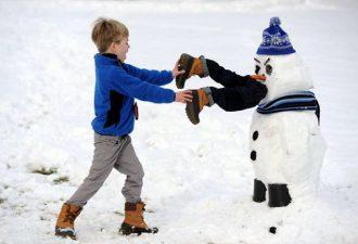 20 самых креативных снеговиков от безумных умельцев