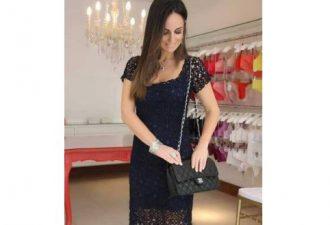 Оригинальное вязаное платье для вечеров и других праздничных мероприятий