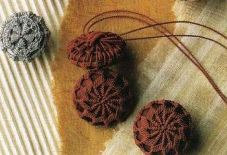 Легендарная дорсетская пуговица: 5 схем для создания