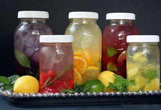Как приготовить вкусную и полезную воду: 5 крутых рецептов