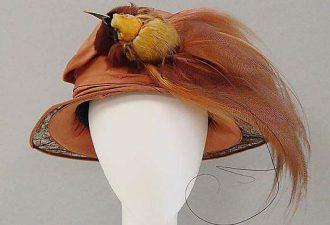 Шляпки начала 20 века: изящество линий и необычность фасона