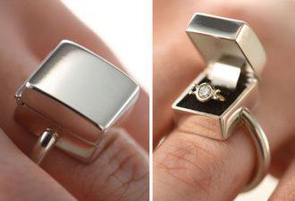 Оригинальные кольца с самым креативным дизайном